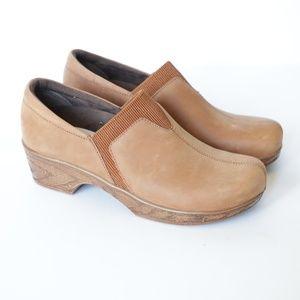 Klogs Salem Clog Tan Leather size 7